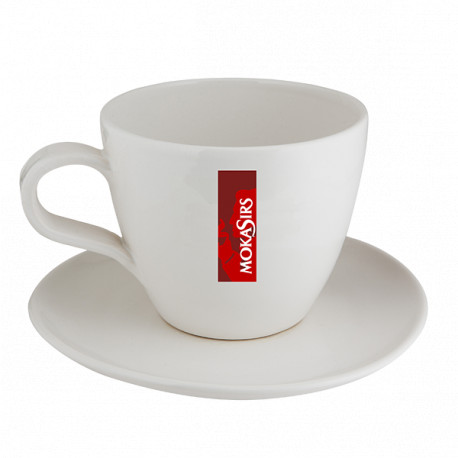 Maxi-cup sugar-box - with saucer