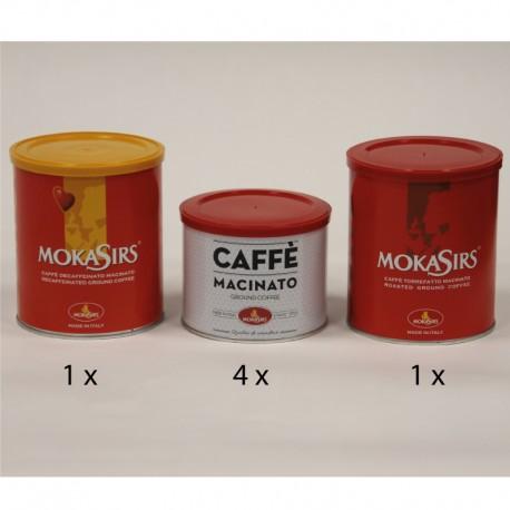 Kit misto macinato per moka - 1000 gr