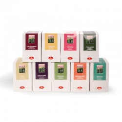 "Kit misto tè e infusi ""Sir Tea"" - 9 box da 15 filtri"