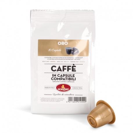 ORO - Nespresso® Compatible capsules - 10 capsules