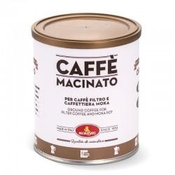 ORO - Lattina caffè macinato per Moka e Caffè Filtro, 250 g