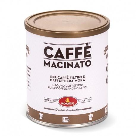 ORO - Caffè macinato per Moka e Caffè Filtro - 1000 g (4 lattine x 250 g)