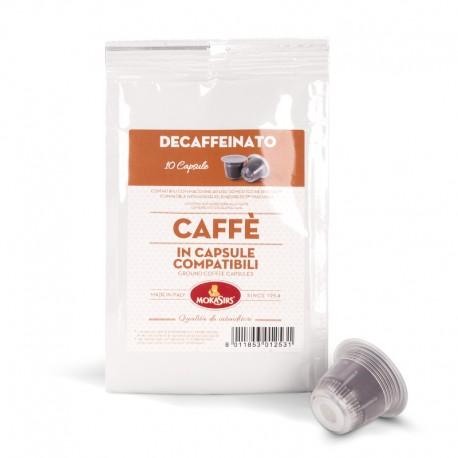 Compatibili Nespresso®  DECAFFEINATO - 100 capsule