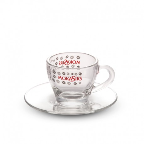 6 glass Espresso cups set