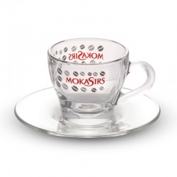 6 glass cappuccino cups set