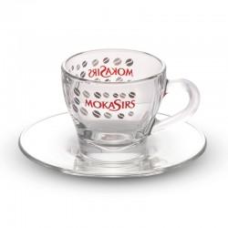 Set 6 tazze cappuccino vetro