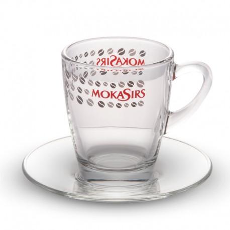 Tazza mug vetro - 6 pezzi