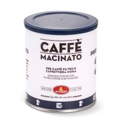 PREGIATO - Ground coffee for moka coffeepot and filter coffee - 1000 g (4 x 250 g tin)