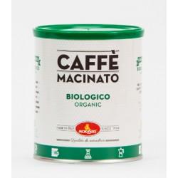 BIOLOGICO - Caffè macinato per Moka, Caffè Filtro e Cold Brew - 1000 g (4 lattine x 250 g)