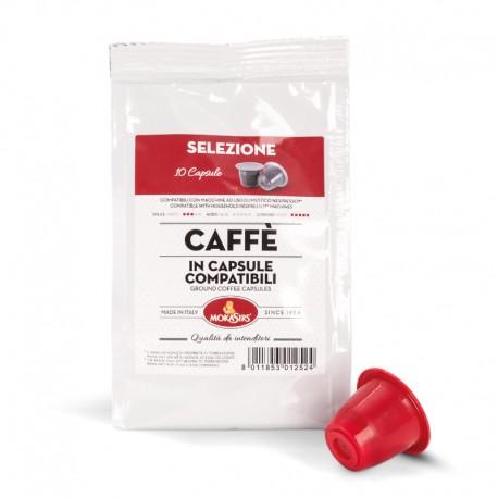 SELEZIONE - Nespresso® Compatible Capsules - 10 capsules