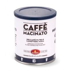 PREGIATO - Ground coffee for moka coffeepot and filter coffee - 250 g tin