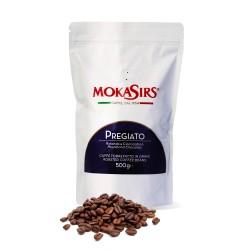 PREGIATO MokaSirs Coffee beans, 500g