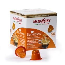 DECAFFEINATO - 50 capsule compatibili Nespresso®*